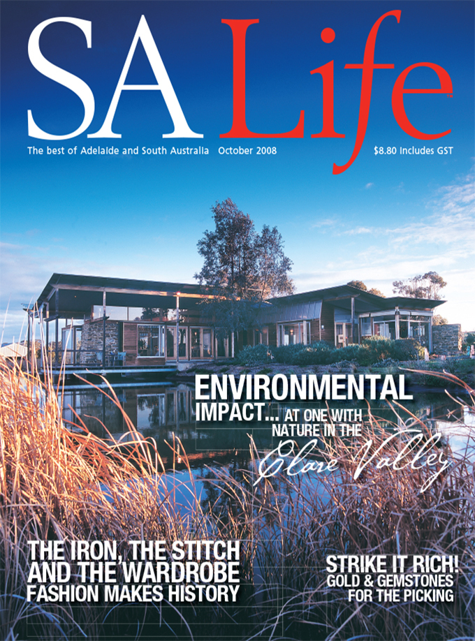 OCTOBER 2008 - SALife Cover with BACK GATE FOLD ONLY.indd
