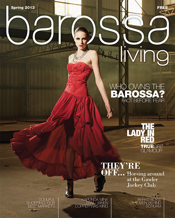 Barossa Living Magazine - Creative Director Jason Hamer
